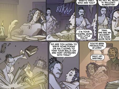 L.M. Pierce on pantsing and being held hostage by her main character (plus maaaaybe a sneak peek at
