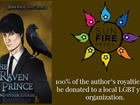 """Release Day Blitz for """"The Raven Prince and Other Stories"""" a new YA from Jean-Paul Whiteha"""