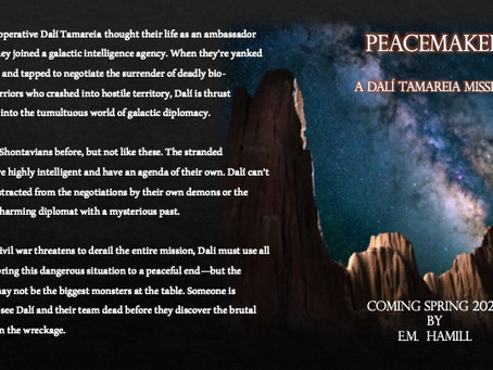 PEACEMAKER Blurb is up! Coming Spring 2020