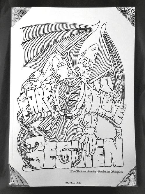 Farblose Bestien 68 Seiten Klebebindung