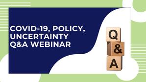 US-Bound International Undergraduates: COVID-19, Policy, Uncertainty – Q&A Webinar