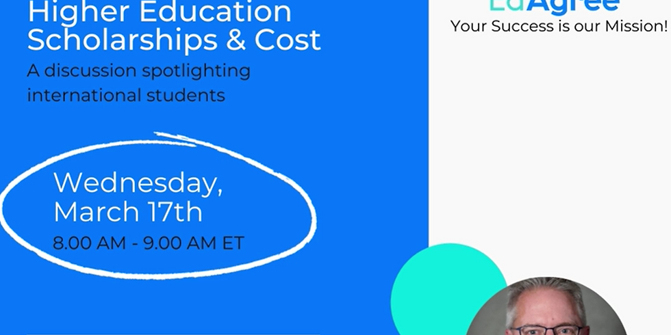 Understanding U.S. Higher Education Scholarships and Cost Webianr