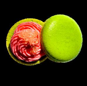 Guava Lime Macaron