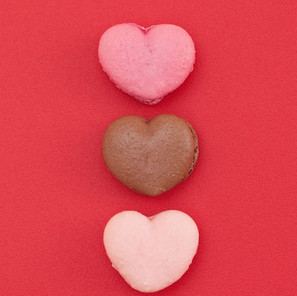 Adore*Cherish*Love Macaron Flavors