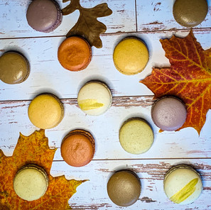 Fall Favorites Macaron Flavors