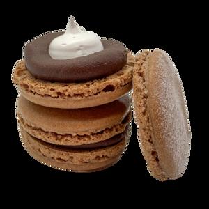Hot Chocolate Macaron