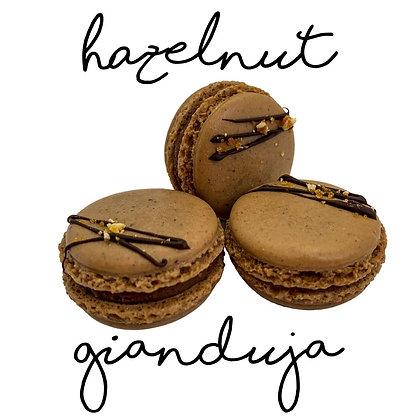 Hazelnut Gianduja Macaron