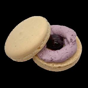 Blackberry Sage Macaron