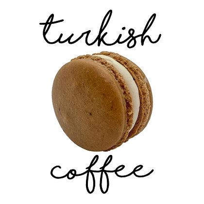 Turkish Coffee Macaron