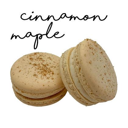 Cinnamon Maple Macaron