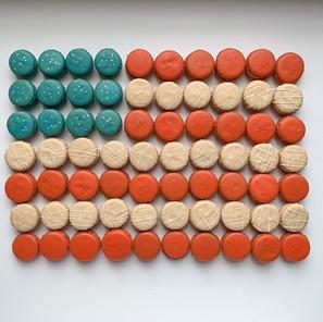 Inauguration Celebration Macaron Flavors