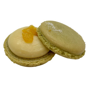 Yuzu Matcha Macaron