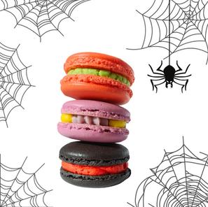 Halloween Macaron Flavors
