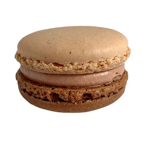 Chocolate Vanilla Macaron