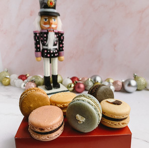 Nutcracker: Land of Sweets Macaron Flavors