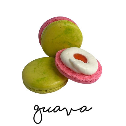 Guava Macaron