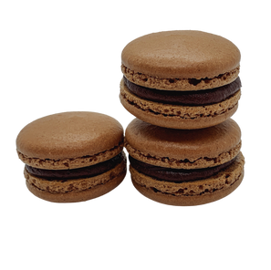 Chocolate Espresso Macaron