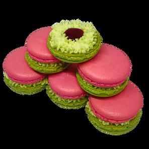 Prickly Pear Macaron