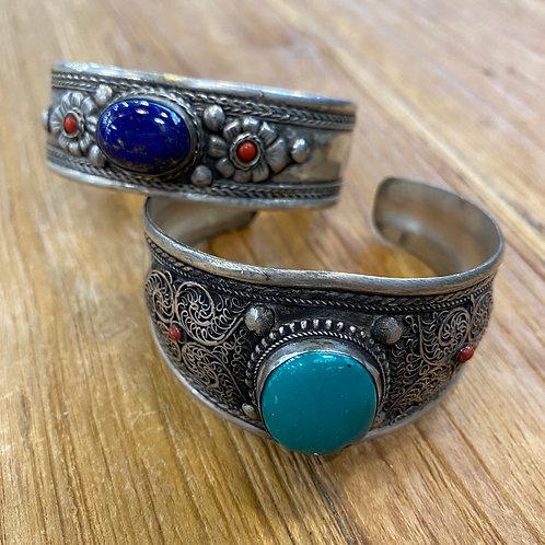 Lapis Lazuli en Turkoois (alleen Turkoois)