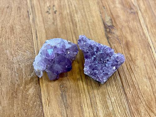 Amethyst (links en rechts)