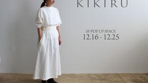KIKIRU POP UP SHOP @浦添PARCO CITY