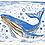 Thumbnail: Whale Print