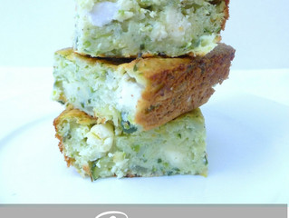 Courgette squares