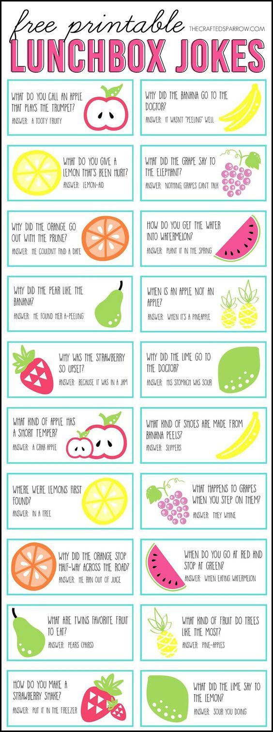Lunchbox jokes