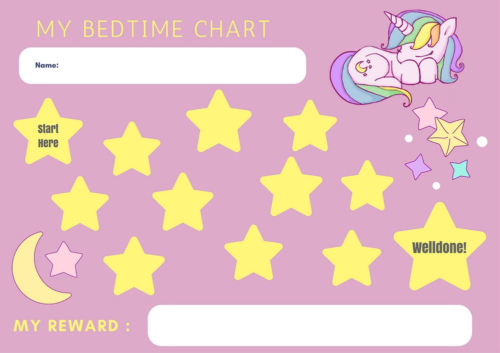 unicorn reward chart