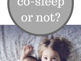 Hot Topic - To co-sleep or not