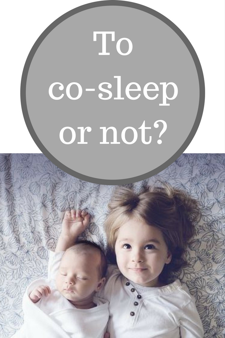 to co-sleep or not?
