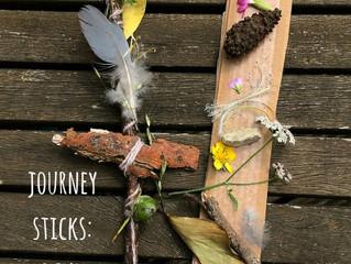 Make a Nature Walk Journey Stick