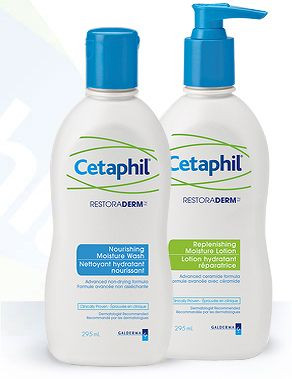 Cetaphil Moisturizer and body wash review