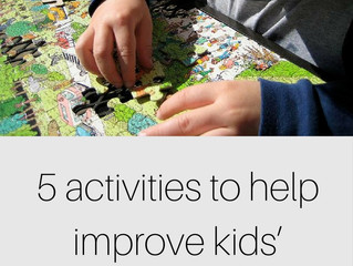 5 activities to help improve your childs concentration