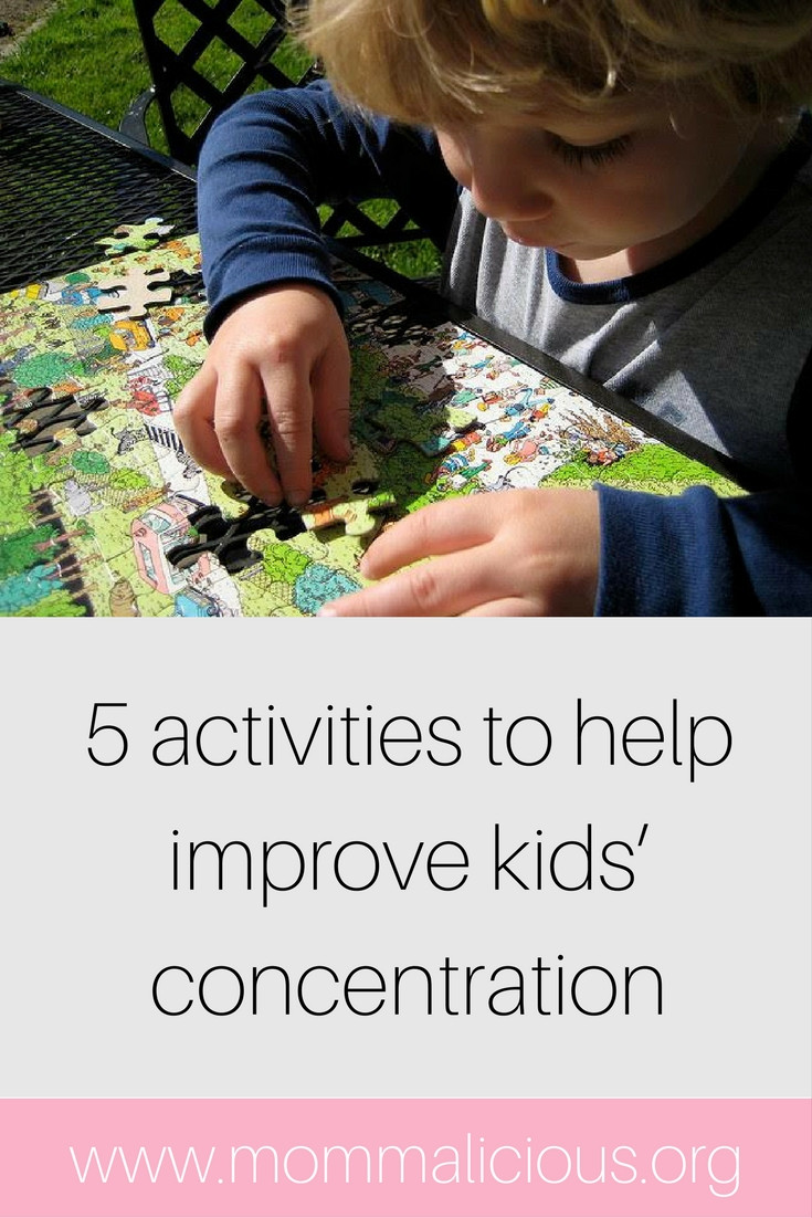 help improve your childs concentration