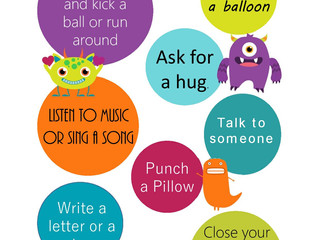 9 Ideas to help your child calm down
