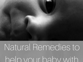 Natural Remedies to help your baby with congestion.