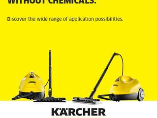Win a Kärcher SC2 Steam Cleaner!
