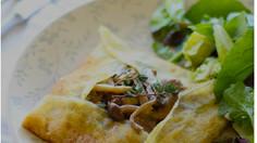 Umami Mushroom and Truffle Pancakes