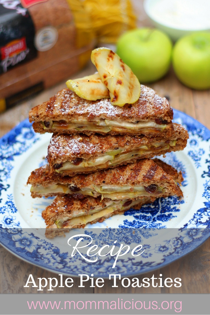 apple pie toasted sandwich