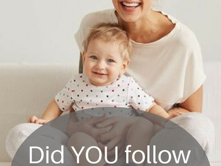 Did you follow the 'mom rules'?