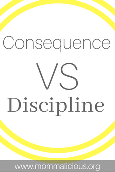 Punishments vs. Consequences