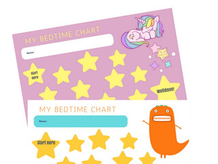 Freebie - My Bedtime Reward Chart