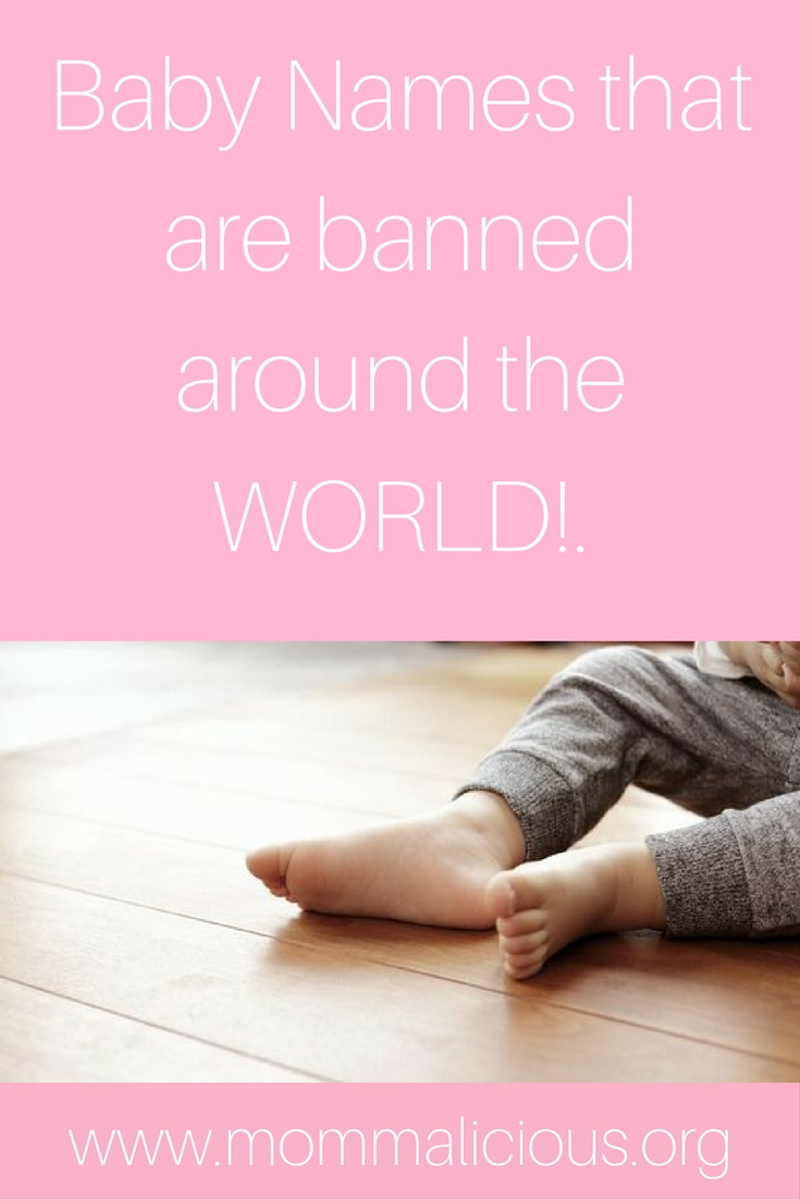 baby names that are banned around the world