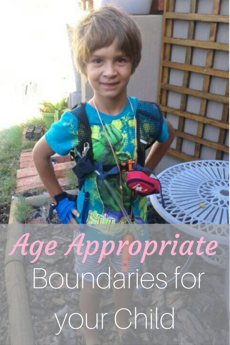 age appropriate boundaries for children