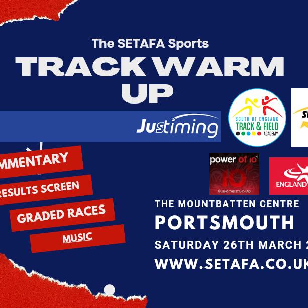 The SETAFA Sports Track Warm Up 2
