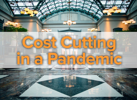 """A SELECT SERVICE HOTEL SURVIVAL PLAN """"COST CUTTING IN A PANDEMIC"""""""