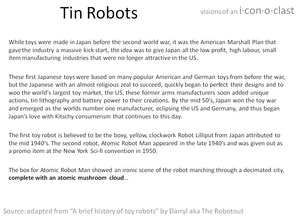 About Tin Robots