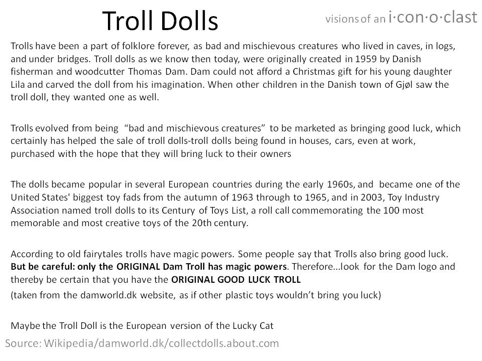 About Troll Dolls