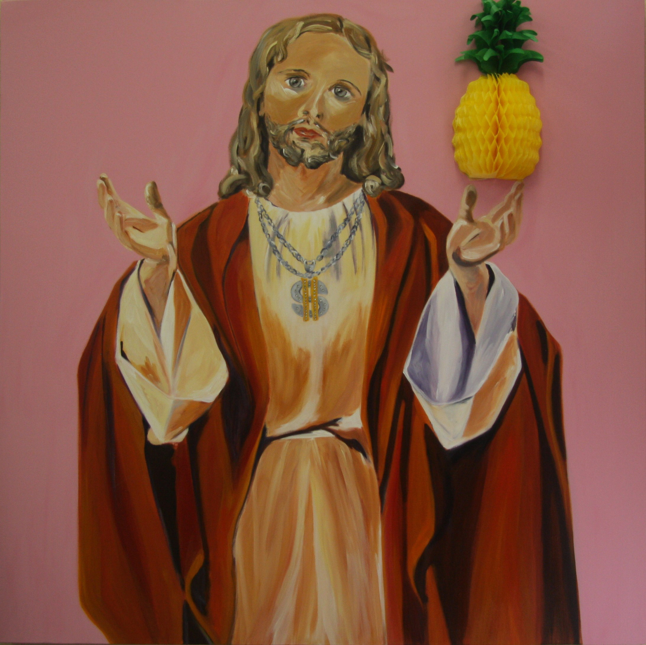 Christ with Pineapple